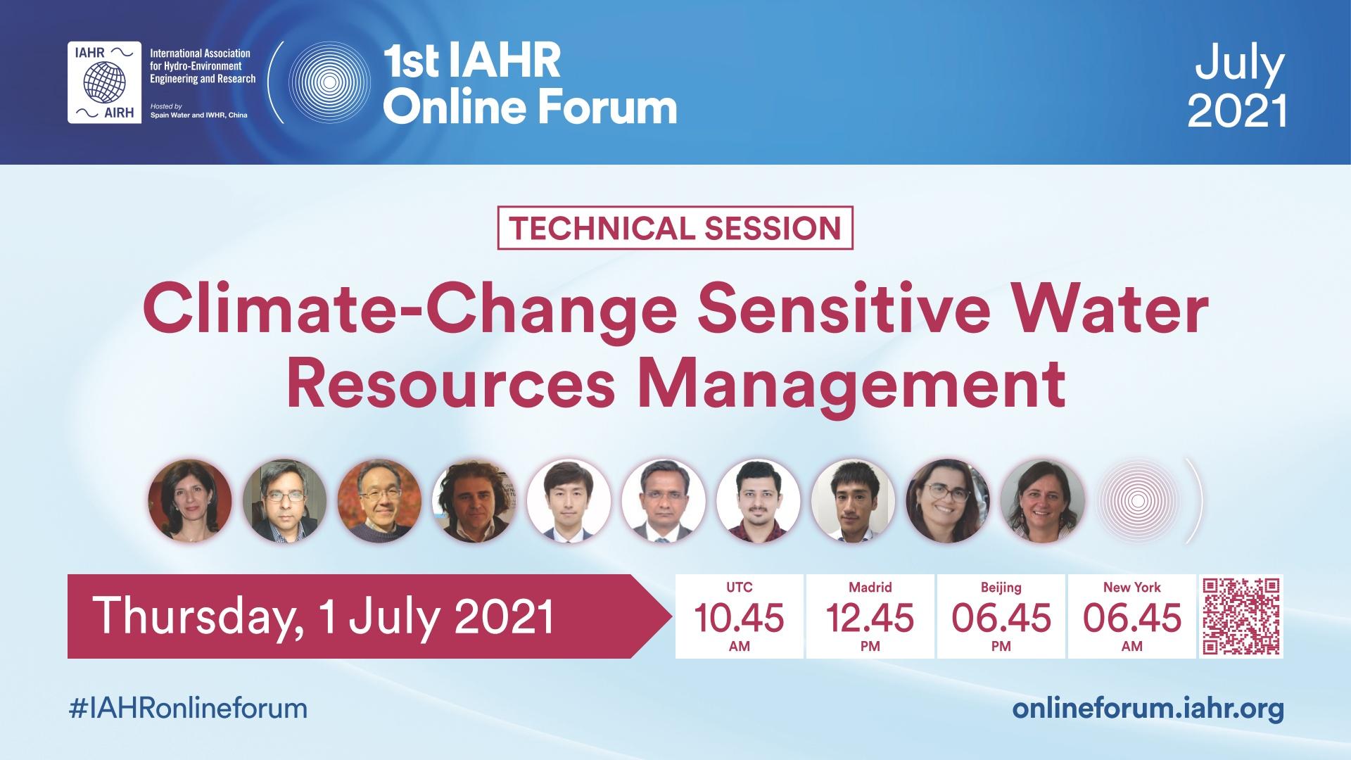 Climate-Change Sensitive Water Resources Management