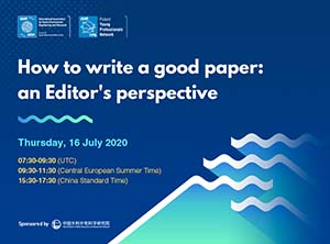 How to write a good paper: an Editor's perspective