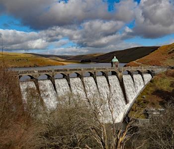The Beautiful Craig Coch Dam, Elan Valley, Wales, UK (1897)