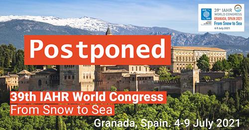 39th IAHR World Congress postponed