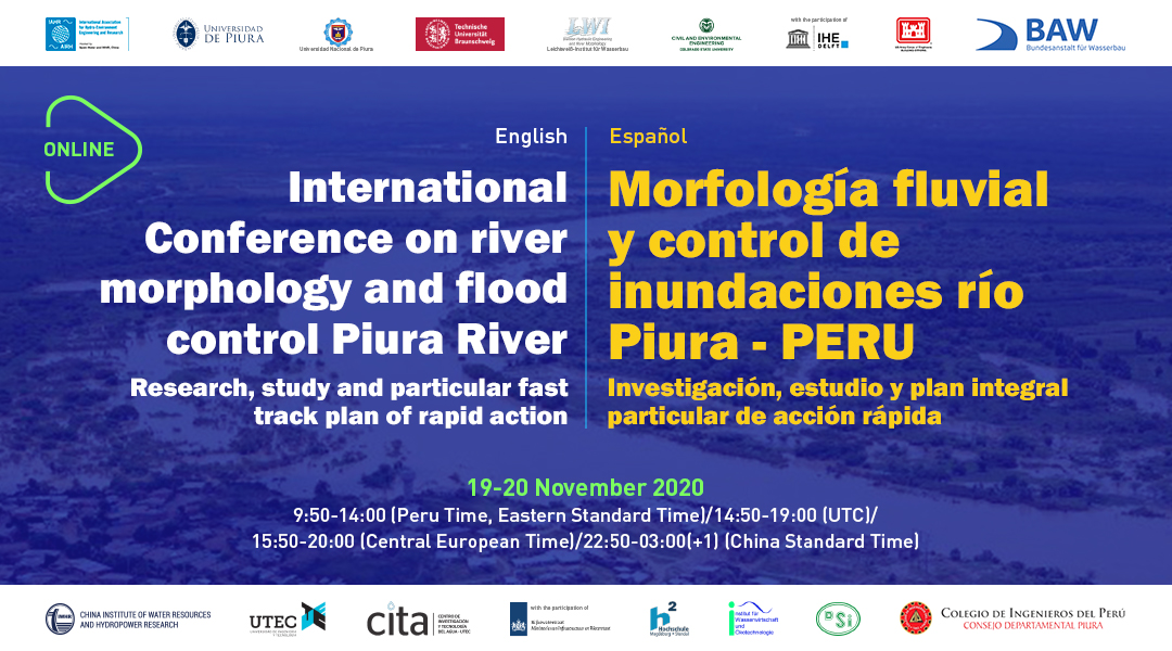 International conference on river morphology and flood control Piura River