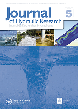 Journal of Hydraulic Research (JHR). October 2020 issue