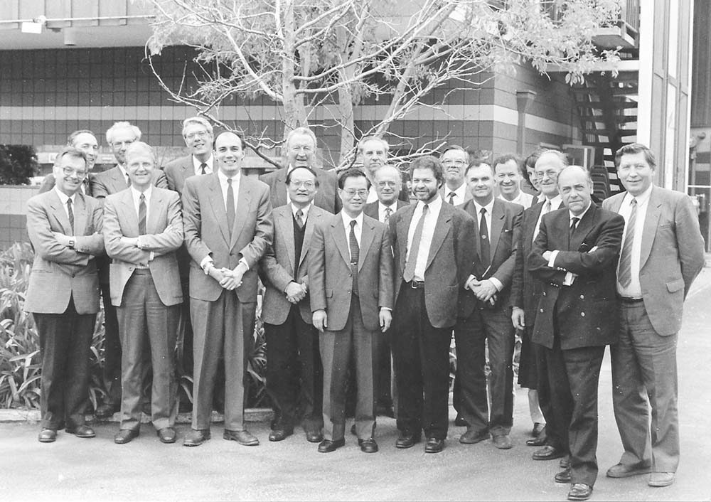 IAHR Council meeting in Tiburon, California, USA (1990).