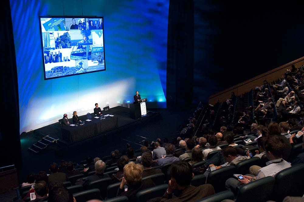 Opening of the 34th IAHR World Congress in Brisbane, Australia.