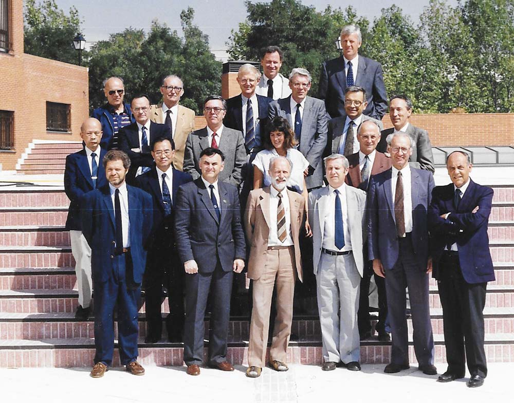 IAHR Council meeting in Madrid, Spain (1991).