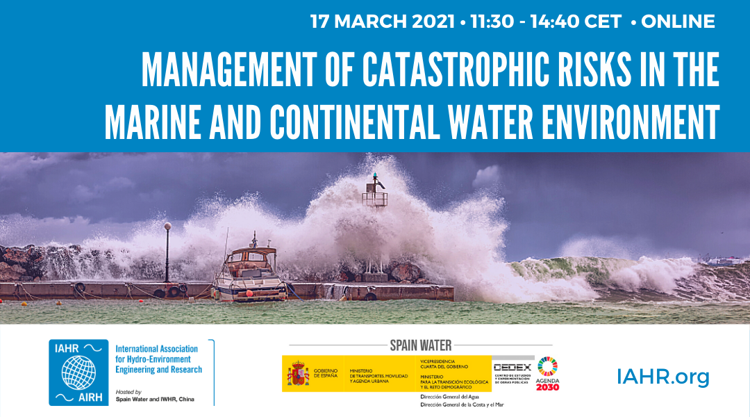 Management of catastrophic risks in the marine and continental water environment