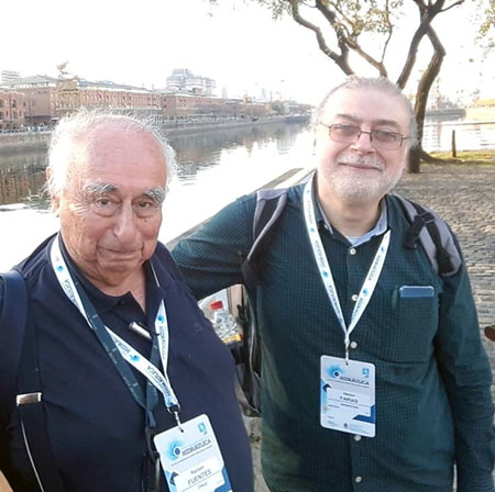 Professors Ramón H. Fuentes Aguilar and Hector Daniel Farias. Buenos Aires, 2018.