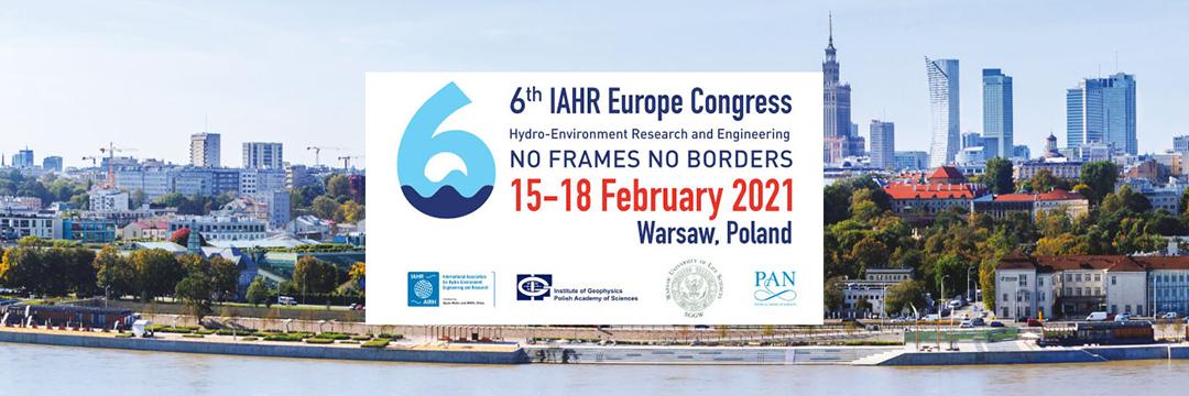 6th IAHR Europe Congress. No frames, no borders