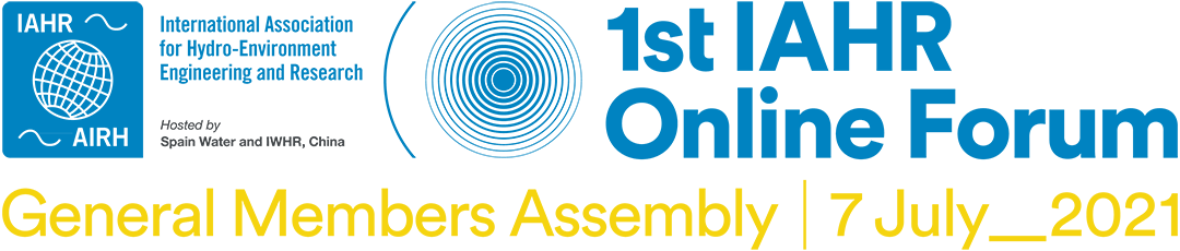 1st IAHR Online Forum: General Members Assembly