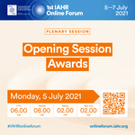IAHR Online Forum - Opening Session