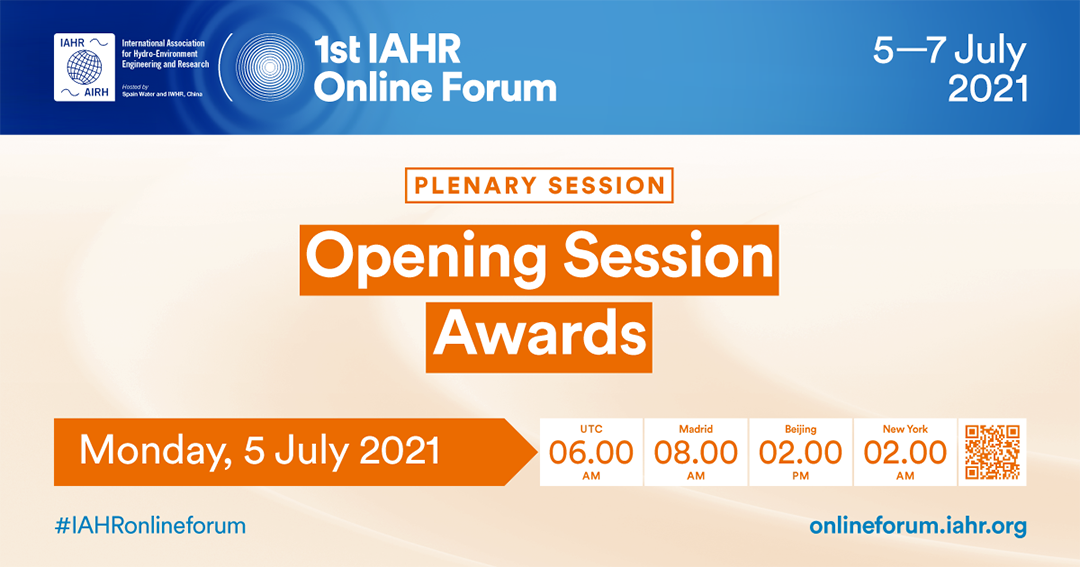 1st IAHR Online Forum: Opening session