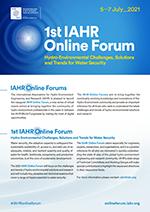 1st IAHR Online Forum - Flyer