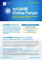 1st IAHR Online Forum - Sponsorship opportunities